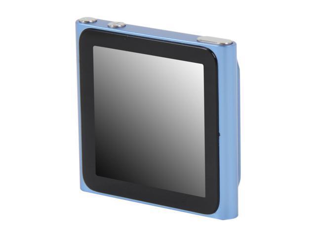 "Apple iPod nano (6th Generation) 1.54"" Blue 8GB MP3 Player MC689LL/A"