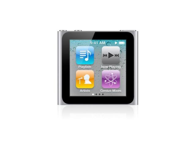 "Apple iPod nano (6th Generation) 1.54"" Silver 16GB MP3 Player MC526LL/A"