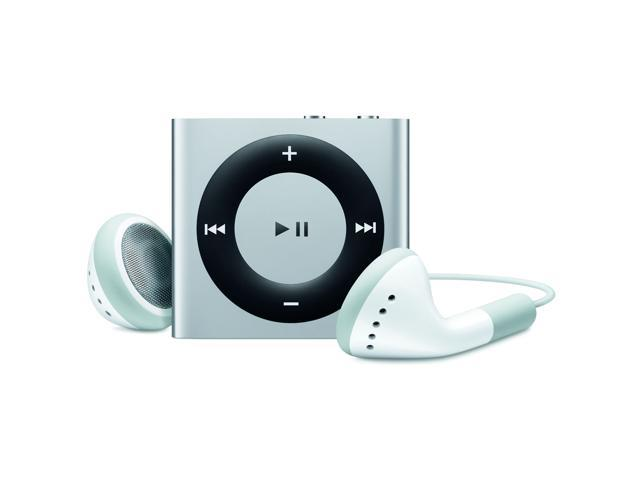 Apple iPod shuffle (4th Generation) Silver 2GB MP3 Player MC584LL/A