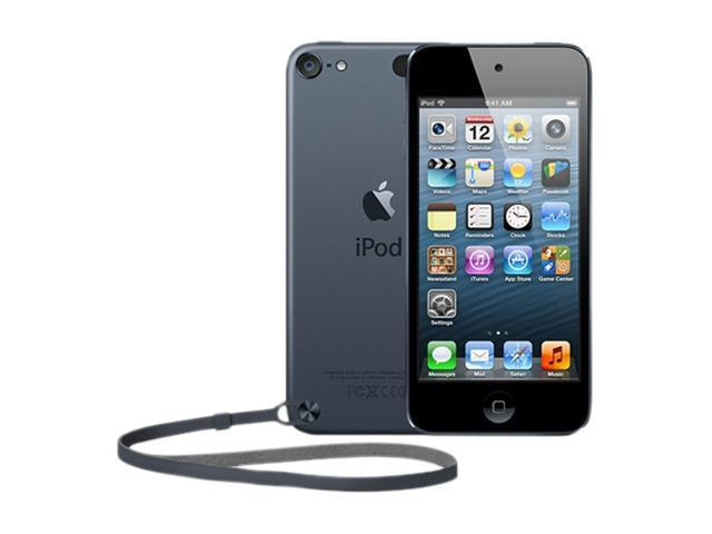 "Apple iPod touch (5th Gen) 4"" Black 64GB MP3 / MP4 Player MD724LL/A"