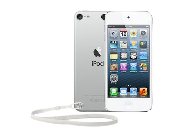 "Apple iPod touch (5th Gen) 4"" White/Silver 64GB MP3 / MP4 Player MD721LL/A"