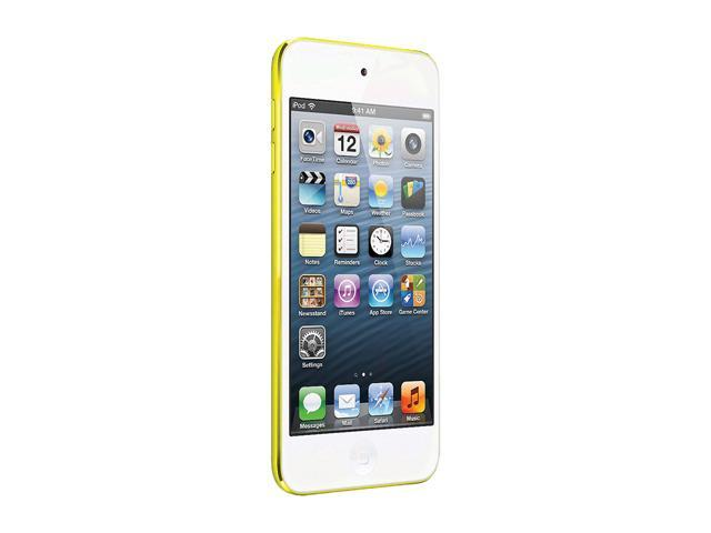 "Apple iPod touch (5th Gen) 4"" Yellow 64GB MP3 / MP4 Player MD715LL/A"