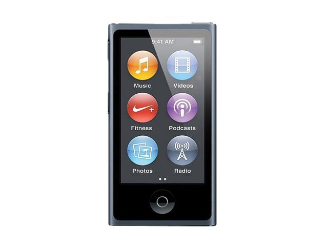 "Apple iPod nano (7th Gen) 2.5"" Slate 16GB MP3 Player MD481LL/A"
