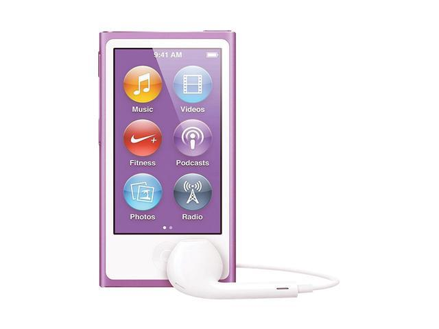"Apple iPod nano (7th Gen) 2.5"" Purple 16GB MP3 Player MD479LL/A"