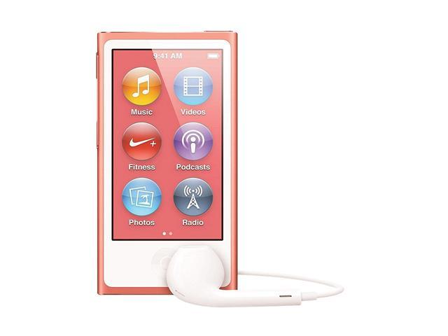 "Apple iPod nano (7th Gen) 2.5"" Pink 16GB MP3 Player MD475LL/A"