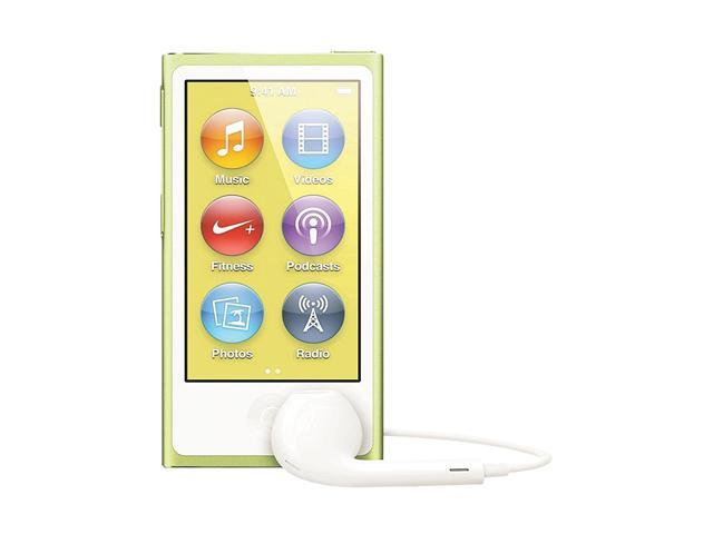 "Apple iPod nano (7th Gen) 2.5"" Yellow 16GB MP3 Player MD476LL/A"