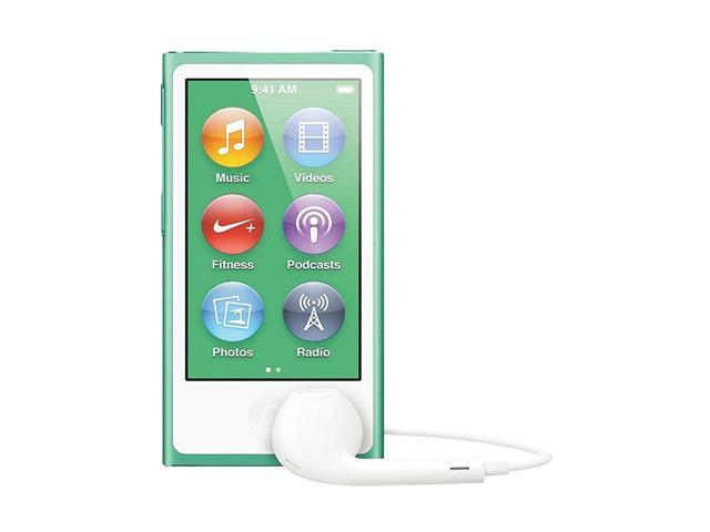 "Apple iPod nano (7th Gen) 2.5"" Green 16GB MP3 Player MD478LL/A"