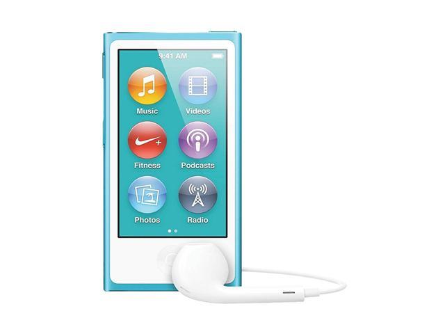 "Apple iPod nano (7th Gen) 2.5"" Blue 16GB MP3 Player MD477LL/A"
