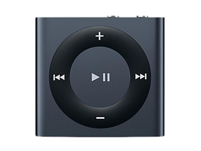 new apple ipod mini shuffle 2gb mp3 player music 4th gen md779ll a black slate ebay. Black Bedroom Furniture Sets. Home Design Ideas