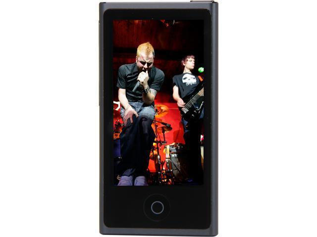 "Apple iPod nano (7th Gen) 2.5"" Slate 16GB MP3 Player MD481LL/A"