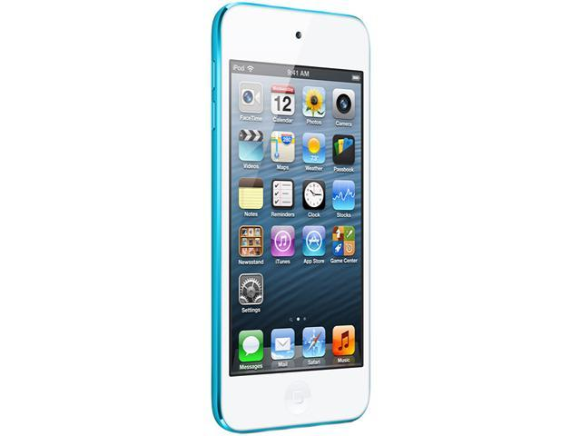 "Apple iPod touch (5th Gen) 4"" Blue 32GB MP3 / MP4 Player MD717LL/A"