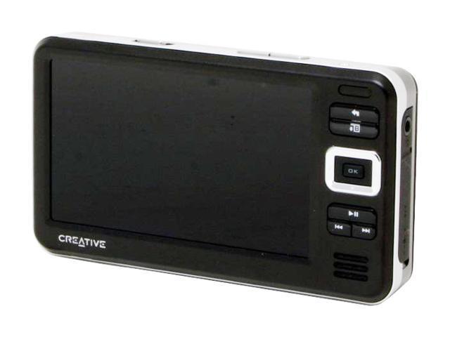 """Creative ZEN Vision W 4.3"""" Black 60GB MP3 / MP4 Player"""
