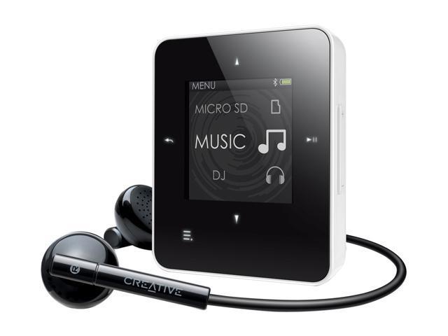 """Creative ZEN Style M300 1.45"""" White 4GB MP3 Player 70PF2550001H1"""