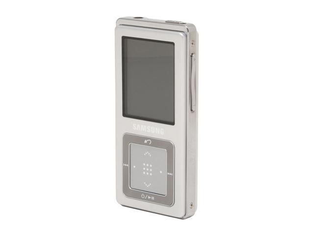 "SAMSUNG 1.8"" Silver 4GB MP3 Player YP-Z5AS/XAA"