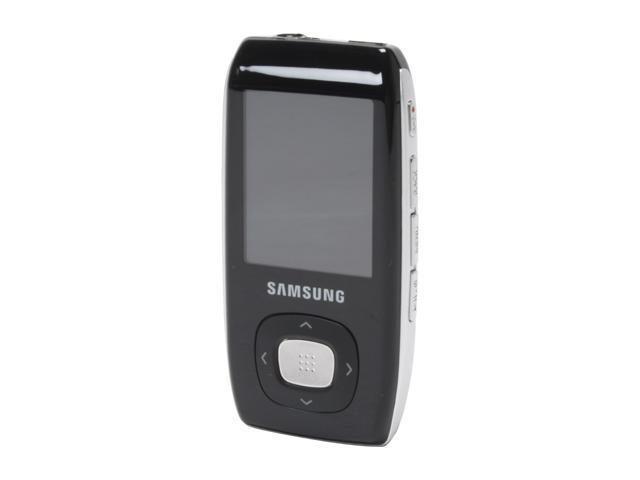 "SAMSUNG 1.8"" Black 4GB MP3 / MP4 Player YP-T9JABY"