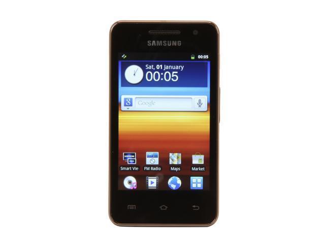 "SAMSUNG Galaxy S 3.65"" Black 8GB Mobile Internet Player YP-GS1CB"
