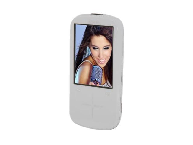 "SanDisk Sansa Fuze+ 2.4"" White 8GB MP3 Player"