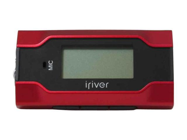 iRiver T30 Rose red 1GB MP3 Player T301GB