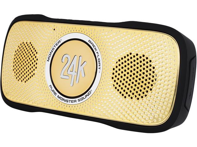 Monster MSP SPSTR BKF BT BK 24K WW SuperStar BackFloat 24K HD Bluetooth Speaker
