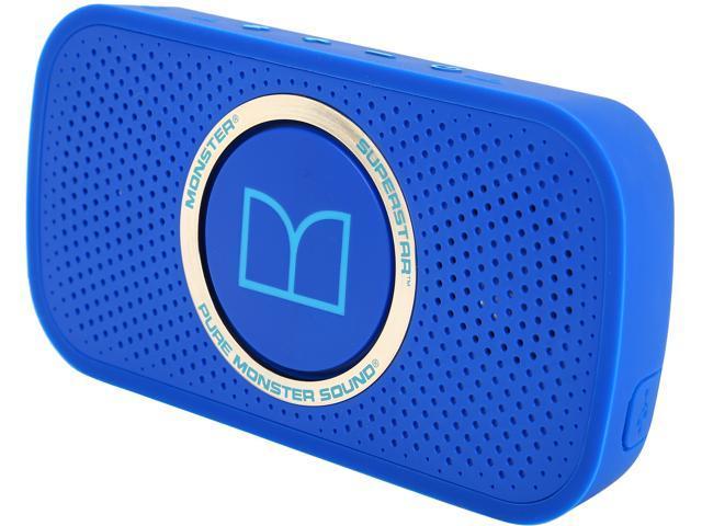 Monster MSP SPSTR BT BL N-BL WW Power Superstar High Definition Bluetooth Speaker
