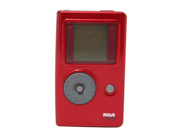 "RCA Lyra 1.5"" Red 4GB MP3 Player RD2762"