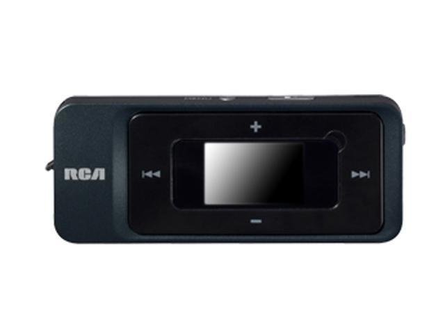 RCA Black 2GB MP3 Player TH1702