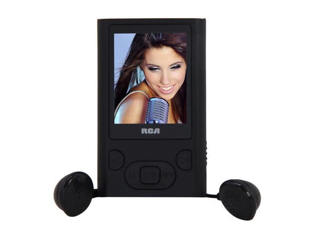 "RCA 1.8"" Black 4GB MP3 / MP4 Player M5504"