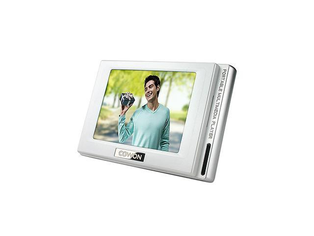 "COWON D2 2.5"" White 4GB MP3 / MP4 Player"