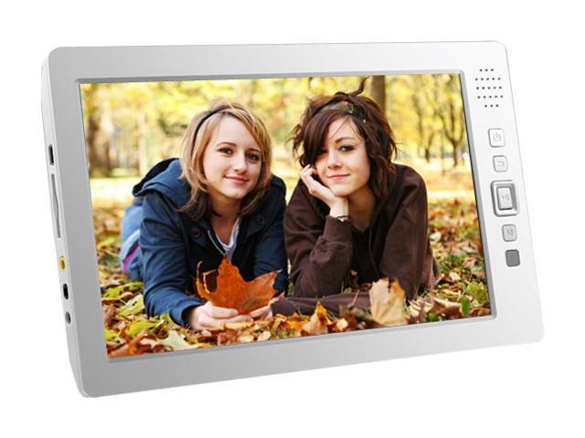 "Aluratek 8"" White 4GB MP3 / MP4 Player APMP101F"