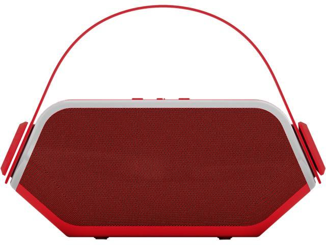 Hip Street HS-BTSP229RD Speaker Kids Little Ears Bluetooth Speaker and Radio with Flashlight Red