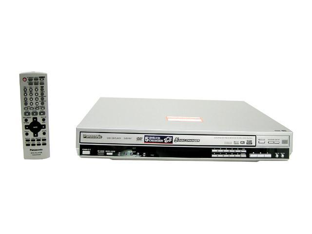 Panasonic DVD-F87S 5-Disc Progressive Scan DVD Player