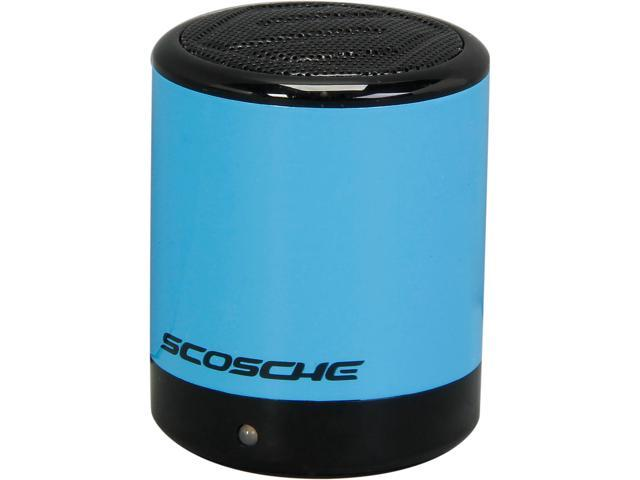 Scosche boomCAN Bluetooth Compact Wireless Speaker - Blue - BTCANBL