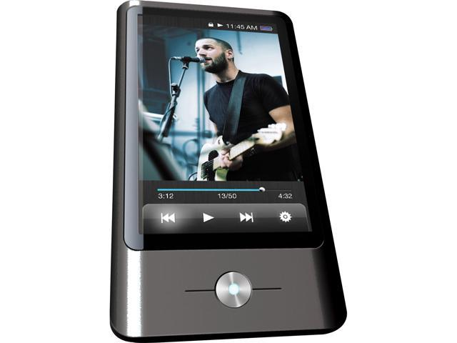 "Coby 3"" Black 8GB Video MP3 Player MP837"