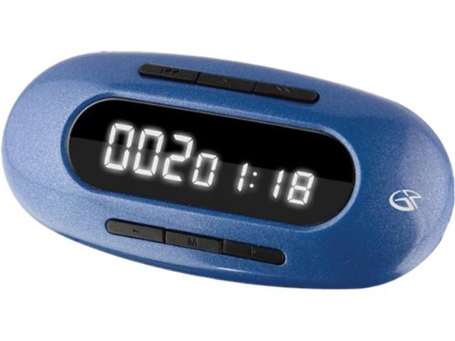 GPX MW151BU 4 GB Flash MP3 Player - Blue