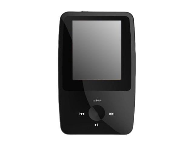 "XO Vision Ematic 1.8"" Black 8GB MP3 Player"
