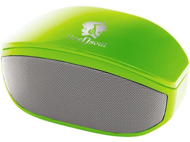 Life n Soul BN208-G Bluetooth Stereo Speaker Green