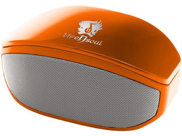 Life n Soul BN208-O Bluetooth Stereo Speaker Orange