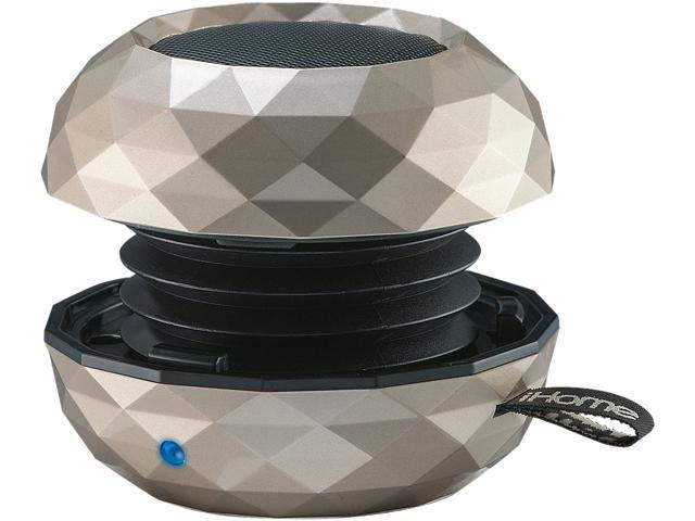 iHome IBT65HC Champagne Bluetooth Mini Speaker