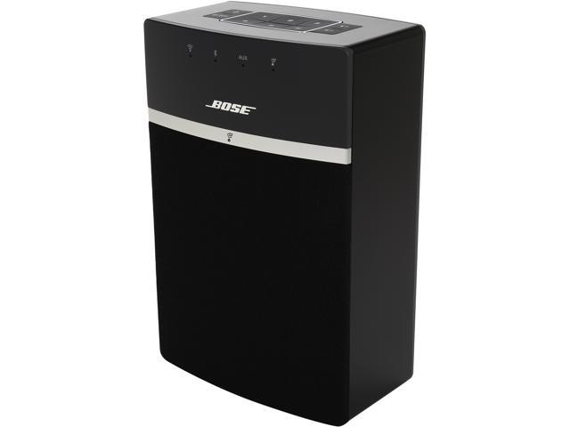 bose soundtouch 10 wireless bluetooth music system black. Black Bedroom Furniture Sets. Home Design Ideas