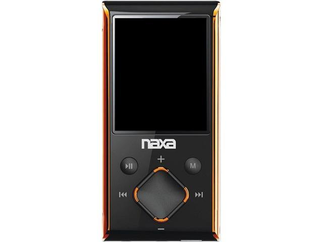 "Naxa 1.8"" Orange 4GB MP4 Player NMV173NOR"