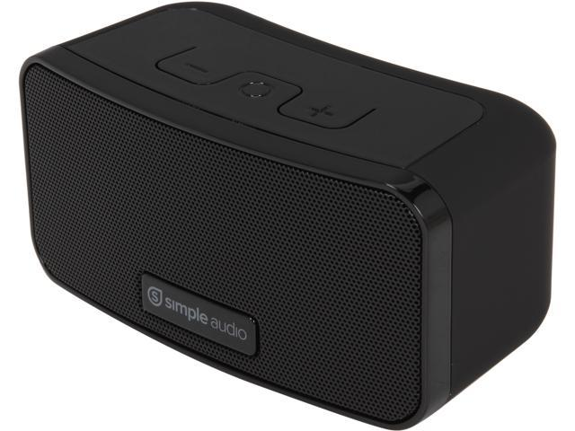Simple Audio 90B0001-US Go Portable Mini Bluetooth Speaker -