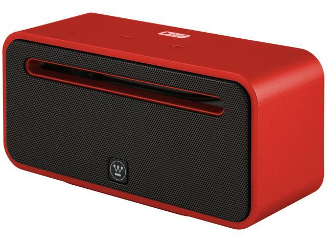 Westinghouse UNPLUG Bluetooth Sound System Stilleto Red UM100RD