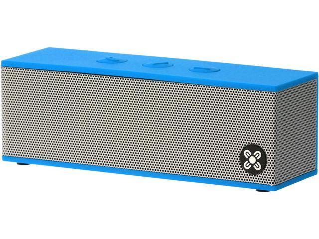 Moki ACCBBXBL BassBox Portable Bluetooth Speaker with Microphone - Blue