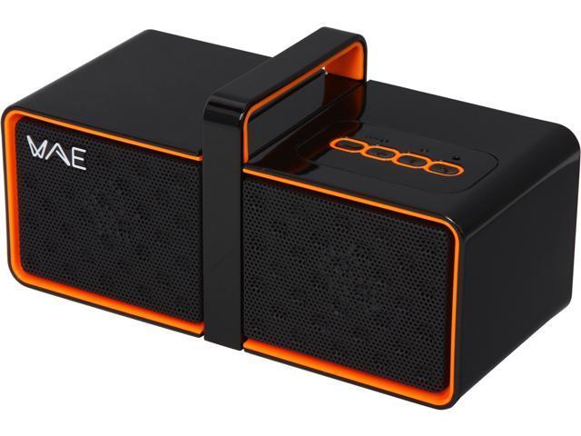 Hercules WAE BTP03 MINI BLK/ORANGE Mini Portable Bluetooth(R) Speaker