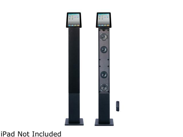 Craig CHT917B 2.1 CH iPod/iPhone/iPad Docking, Bluetooth Tower Speaker System Single