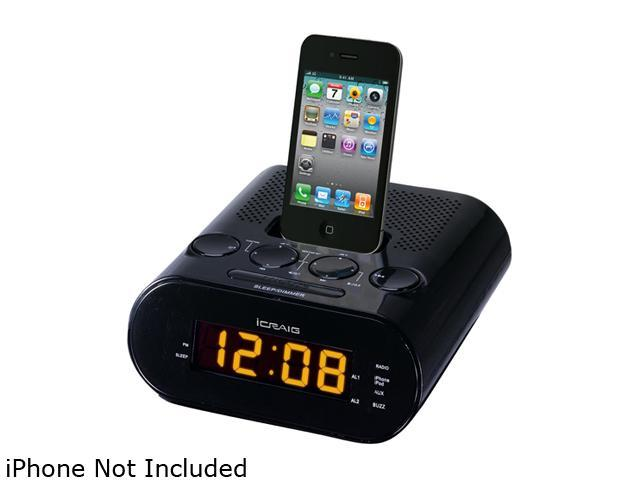 Craig Dual Alarm iPod/iPhone Docking Alarm Clock - CMB3227