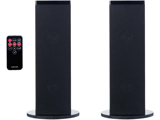 Craig Stereo Home Theater System With Bluetooth Wireless Technology And FM Radio - CHT914n