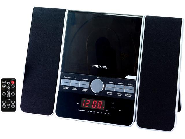Craig Cd Shelf System With Am Fm Stereo Radio And Dual