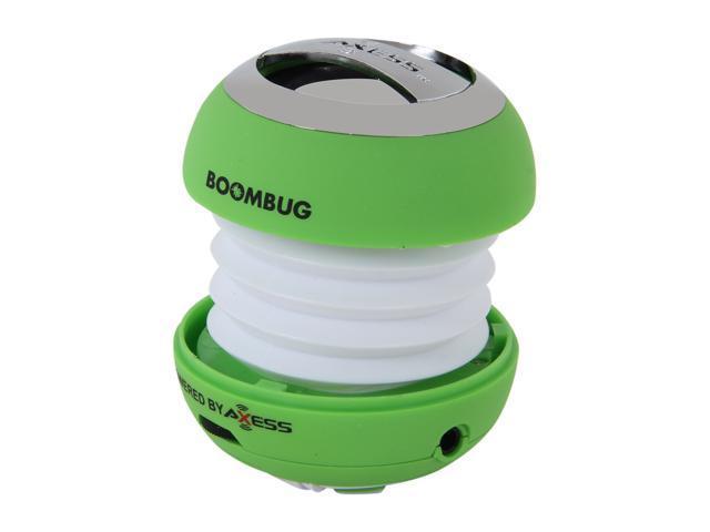 Boombug SPLW11-10 GRN Portable Mini Premium Speaker