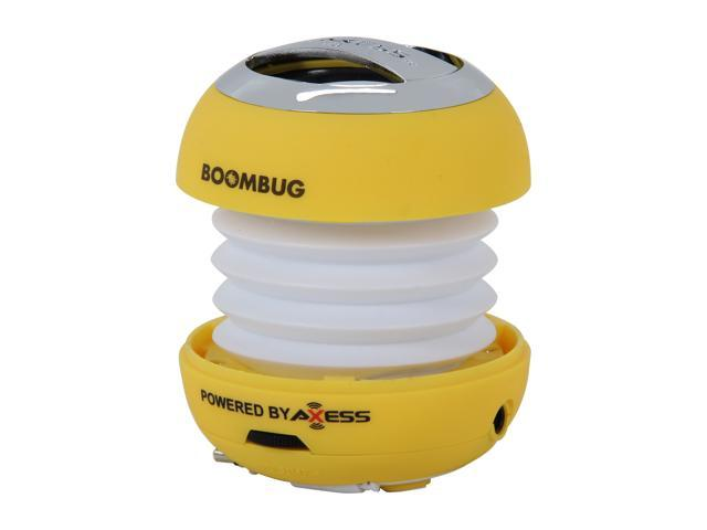 Boombug SPLW11-8 YLW Portable Mini Premium Speaker